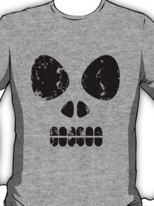 SKULL - black outline T-Shirt