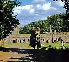 Fountains Abbey1 by Priscilla Turner