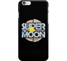 Super Moon Diagram iPhone Case/Skin