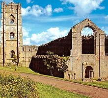 Fountains Abbey12 by Priscilla Turner