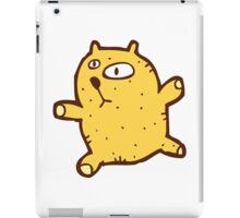 Sketchy cartoon teddy bear iPad Case/Skin