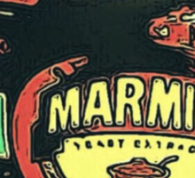 MARMITE..YOU DO OR YOU DON'T  Sticker