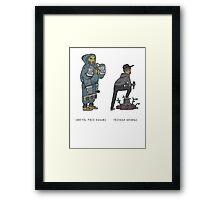 NEHRUVIANDOOM Framed Print