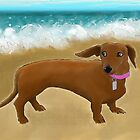 Zali by the Sea by jameshardy