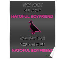 JafreeseBros- The First Rule of Hatoful Boyfriend Poster