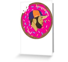 J DILLA DONUTS Greeting Card