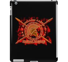 Spartan warrior iPad Case/Skin