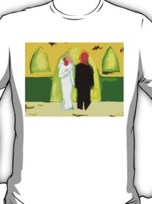THE BLUSHING BRIDE AND GROOM 2 T-Shirt