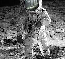 SPACE MAN (ASTRONAUT) by taudalpoi
