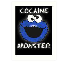 Cocaine Monster Art Print