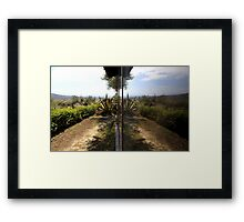 Double Picture - Travel Photography Framed Print
