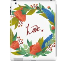 Love wreath iPad Case/Skin