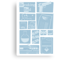 Breaking Bad - Icons Canvas Print