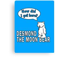 Desmond the Moon Bear Canvas Print