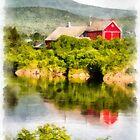 Connecticut River Farm by Edward Fielding