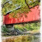 Covered Bridge by Edward Fielding