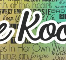 The Kooks (Ver. 01) - Songs Sticker