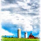 Vermont Farm Scape by Edward Fielding