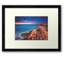 Horseshoe Bay Framed Print