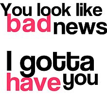 Taylor Swift - 22 - You look like bad news - I gotta have you by efini2