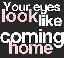 Taylor Swift - Your eyes look like coming home by efini2