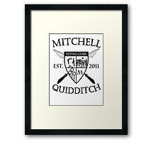Mitchell Quidditch Design 2 Framed Print