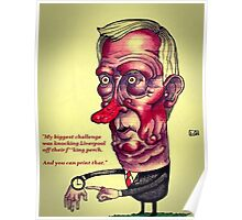 Alex Ferguson Poster