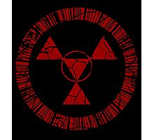 Digital Hazard Symbol Photographic Print