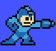 Megaman 8-Bit by MrPickIes