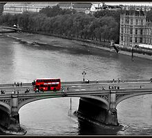 Red Bus  by Sparowsong
