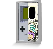 Game Boy Dissected B Greeting Card