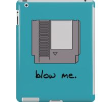 Blow me! iPad Case/Skin