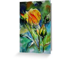 Aquarelle Greeting Card