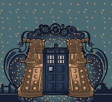 the Doctor crest ART NOUVEAU by koroa