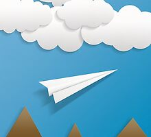 Paper Airplane 62 by YoPedro