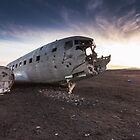 The abandoned DC plane on Sólheimasandur, Iceland by Alessio Michelini