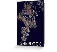 Sherlock mathematical construction T-Shirt Greeting Card