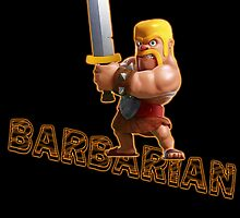 Barbarian from Clash of Clans by Potatrice
