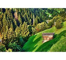 Zillertal Valley Photographic Print