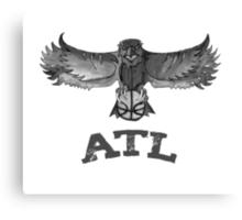 Atlanta Hawks design Canvas Print