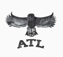 Atlanta Hawks design by nbatextile