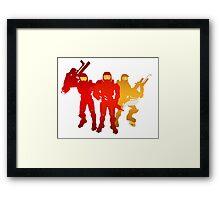 Red Team Framed Print
