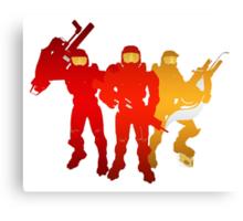 Red Team Canvas Print