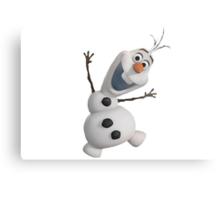 Olaf Frozen  Metal Print