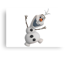 Olaf Frozen  Canvas Print