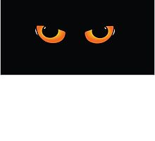 Cats Eyes - Halloween or just creepy stuff by cartoon