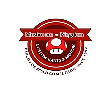 Mushroom Kingdom Custom Karts Photographic Print