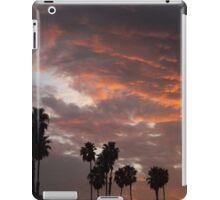 California Palm Sunset iPad Case/Skin