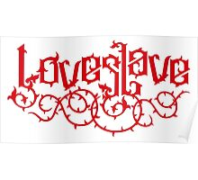 Love Slave (red) Poster
