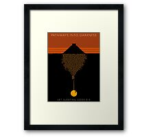 Pathways into Darkness Framed Print